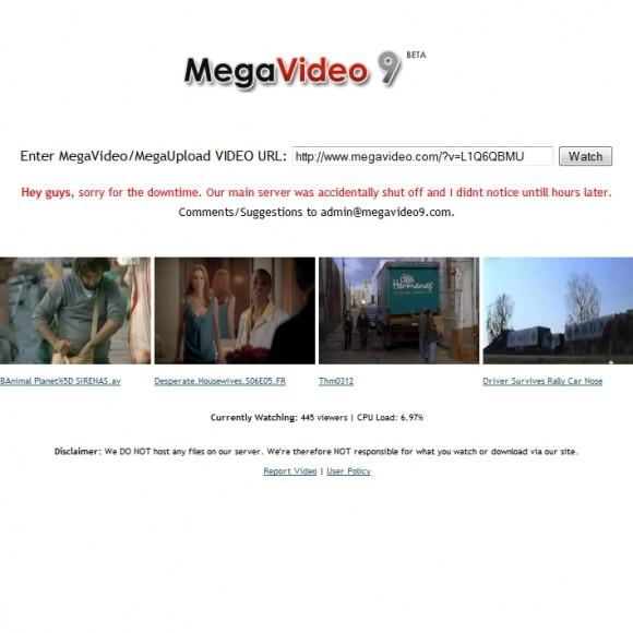 Como evitar el límite de Megavideo