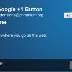 Google agrega el botón +1 a Chrome
