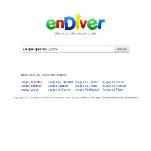 enDiver | un buscador de juegos gratis
