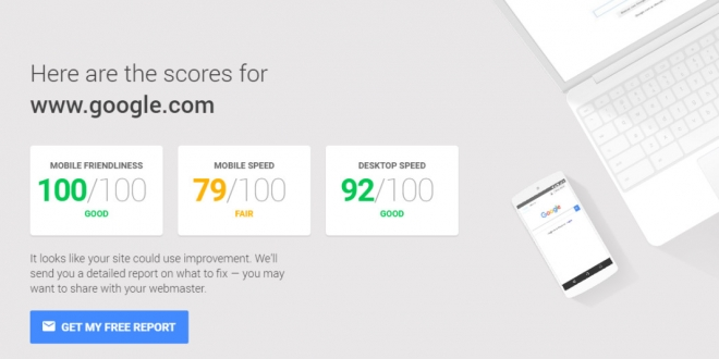 Mobile Website Speed Testing Tool
