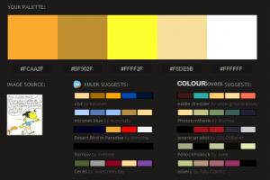Como extraer los colores de una imagen