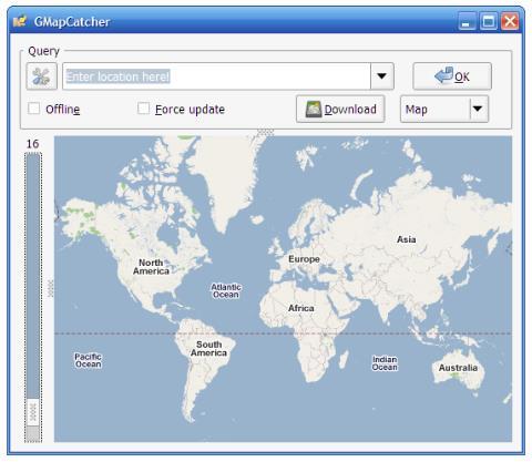 gmapcatcher   Googlemaps offline