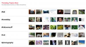 Trending Topics en imágenes (en Crowdreel)