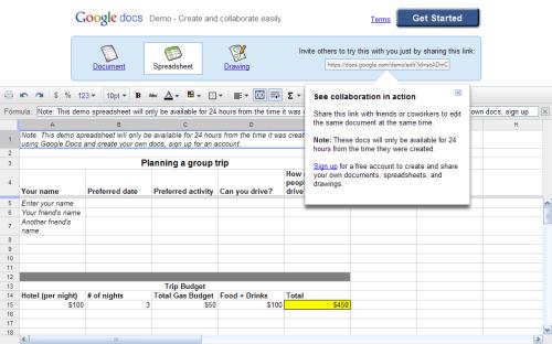 Como probar Google Docs sin tener una cuenta en Google
