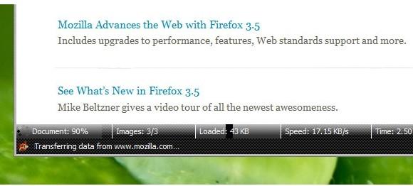 Una barra de estado mejorada para Firefox: Extended Statusbar