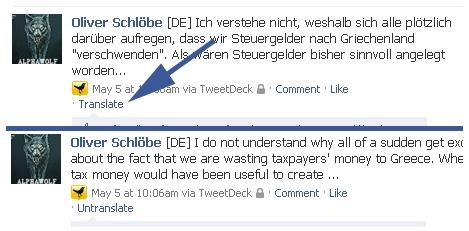 Como traducir páginas en Facebook con Facebook Translate