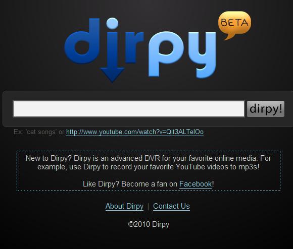 Como descargar videos de YouTube con Dirpy