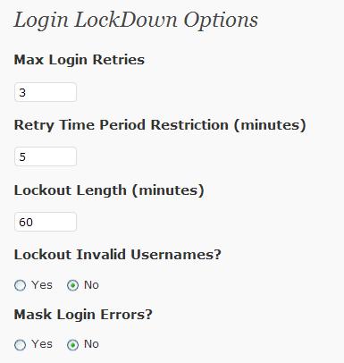 Plugin de seguridad para Wordpress | Login LockDown