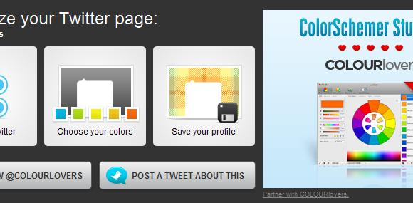 Como modificar el background de Twitter con Themeleon