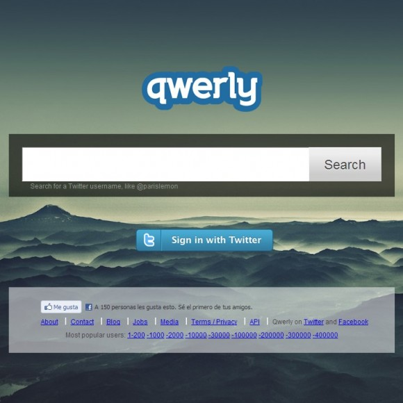 Qwerly | como whois de Twitter