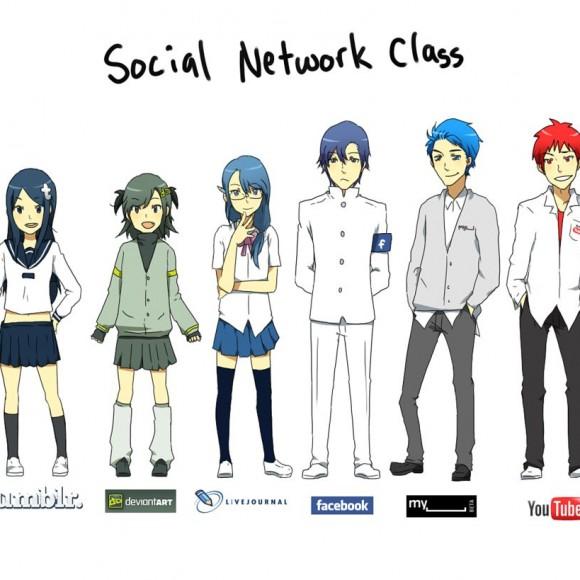Las clases sociales en la Red