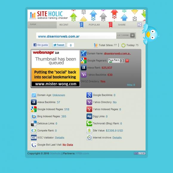 Site Holic | como medir la presencia de tu sito en las redes sociales
