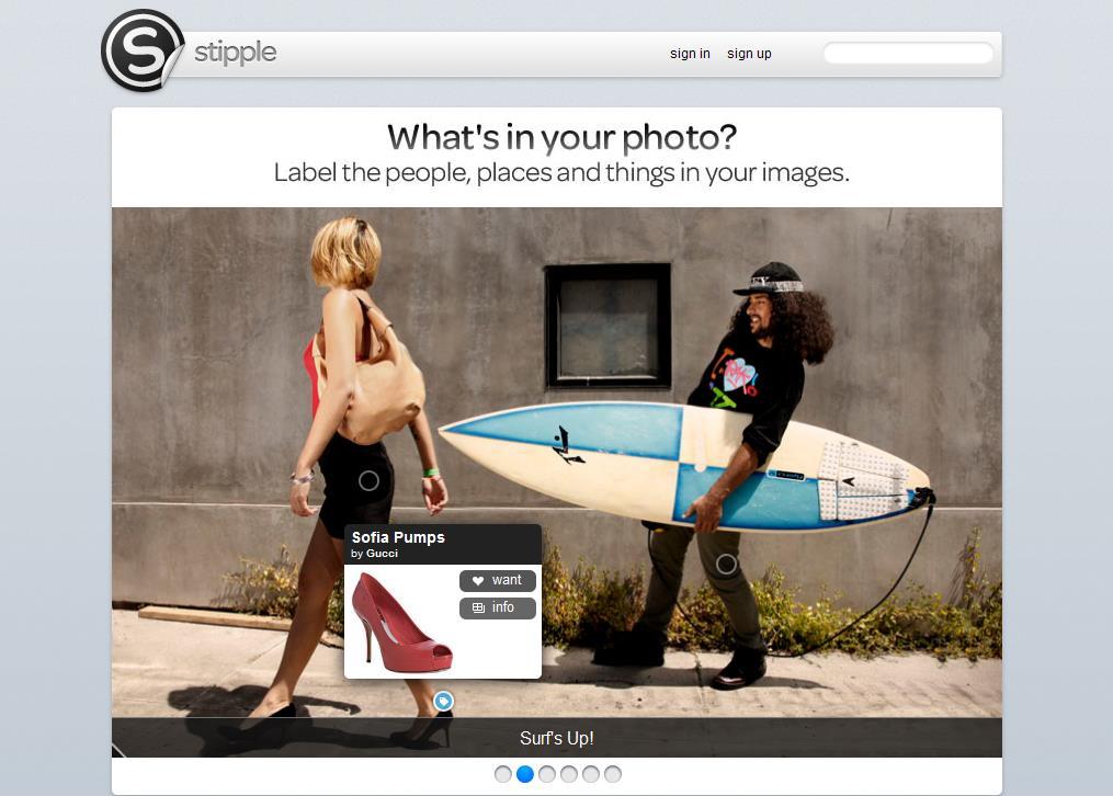 Como agregar etiquetas a las imágenes con Stipple