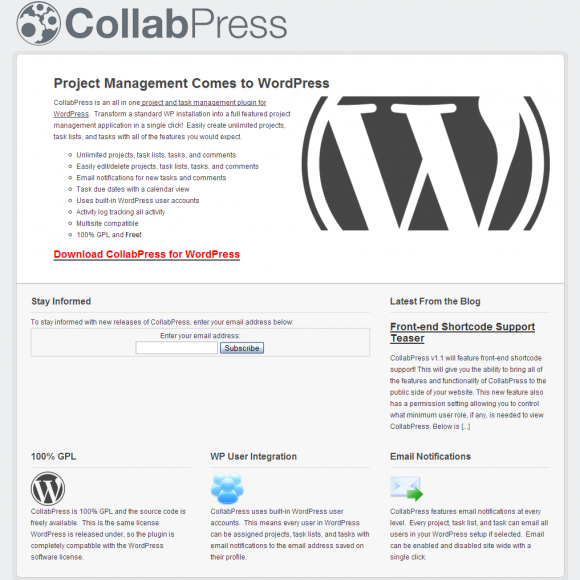Como convertir WordPress en un Project Manager