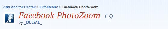 Facebook PhotoZoom