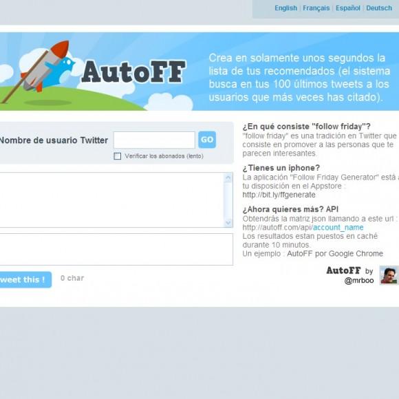 Una aplicación para generar recomendaciones en Twitter