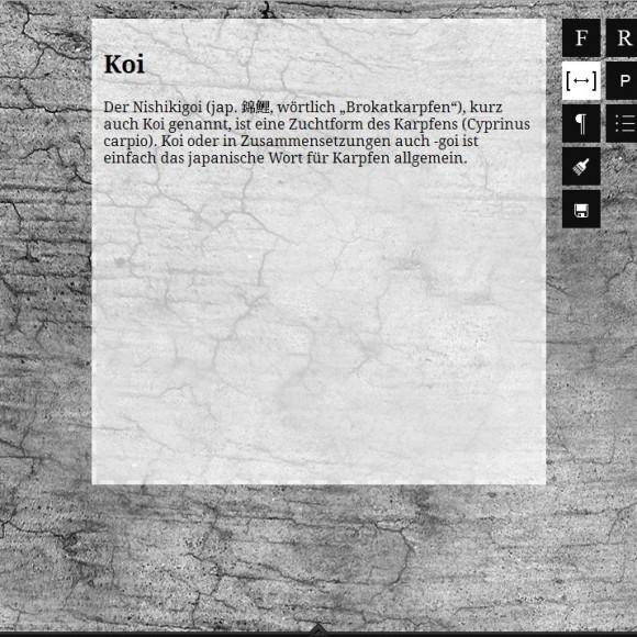 Koi writer
