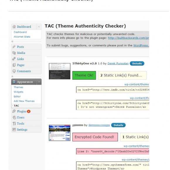 Como detectar malware en los themes de Wordpress