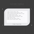 Bordes redondeados con CSS