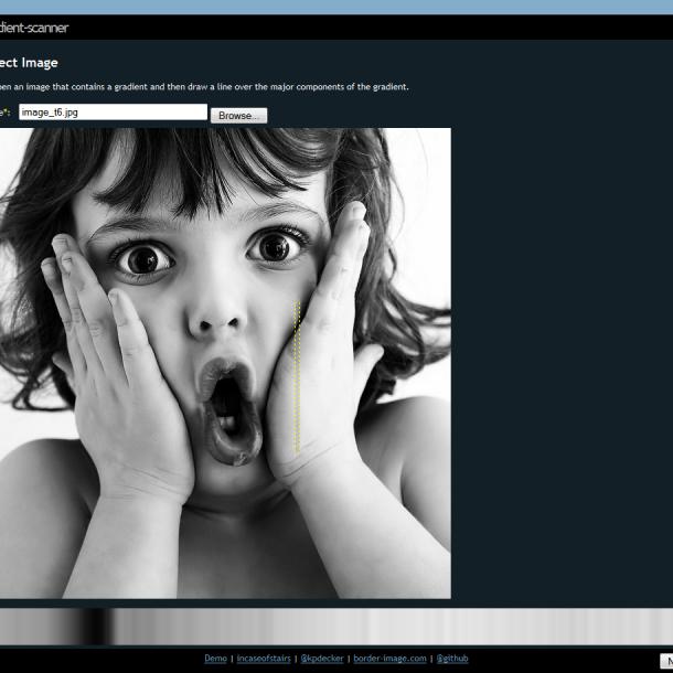 Gradientes en CSS a partir de una imagen