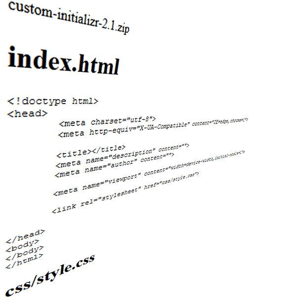 plantilla HTML5