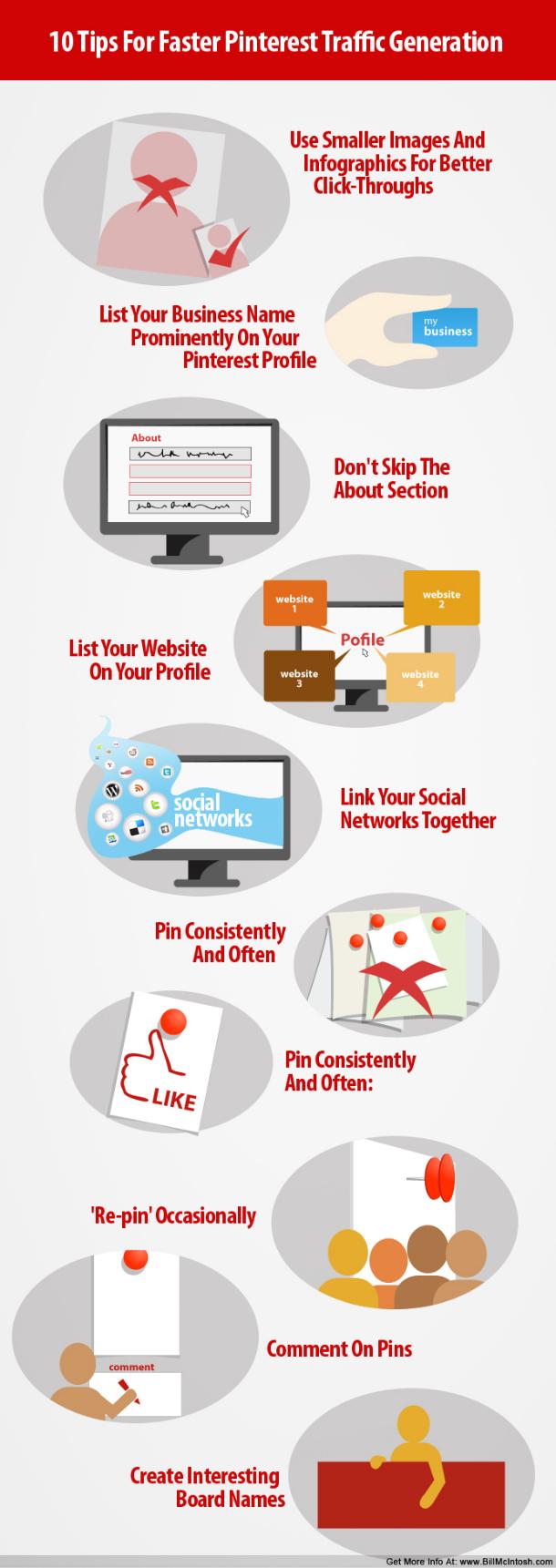 Como utilizar Pinterest para enviar tráfico a tu sitio