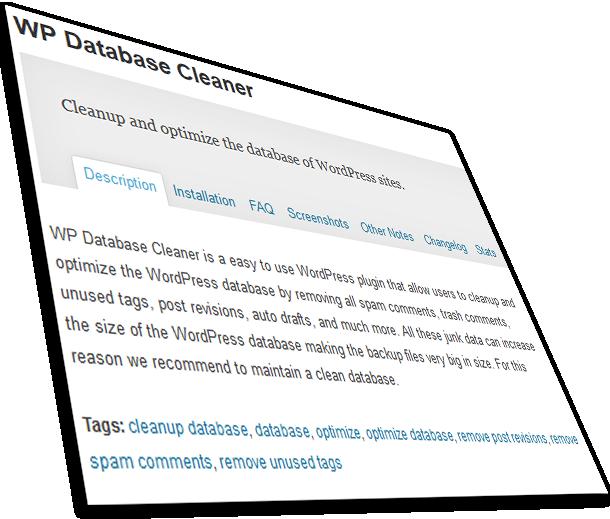 Como mantener optimizada la base de datos de WordPress