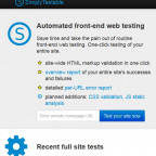 Simply Testable - Como comprobar la validez de todo un sitio