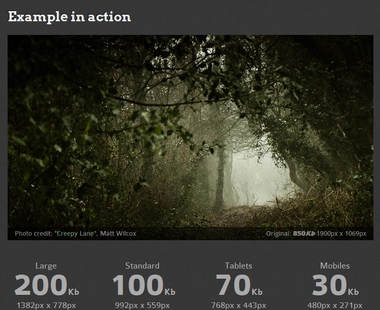 Como manejar Adaptive Images en HTML